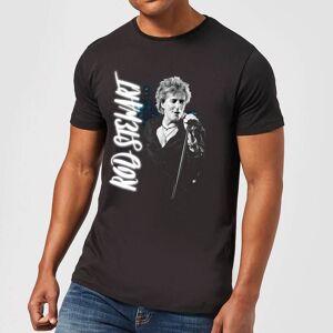 Bravado Rod Stewart Poster Men's T-Shirt - Black - 4XL - Black