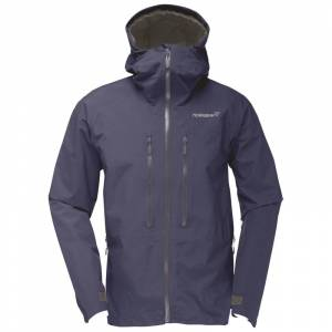 Norrøna Trollveggen Gore-Tex Light Pro Jacket Men Blå
