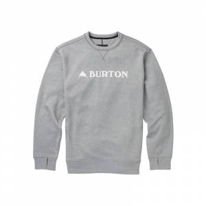 Burton Men's Oak Crew Sweatshirt Grå