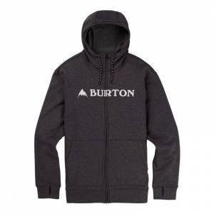 Burton Men's Oak Full-Zip Hoodie Sort