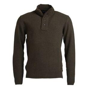 Barbour Men's Patch Half Button Sweater Grønn