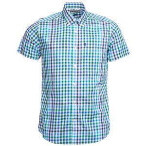 Barbour Russell Shortsleeve Tailored Fit Men's Blå