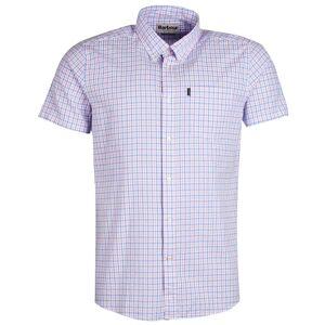 Barbour Newton Shortsleeve Shirt Tailored Fit Men's Rosa