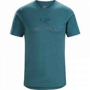 Arc'teryx Arc'word T-shirt Ss Men's Blå