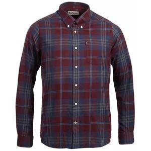 Barbour Stapleton Highland Check Shirt Men's Rød