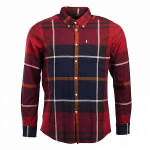 Barbour Men's Dunoon Shirt Rød