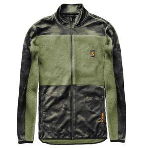 Bula Men's Camo Fleece Jacket Grønn