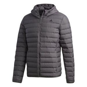 ADIDAS Men's Varilite Soft Down Hooded Jacket Grå