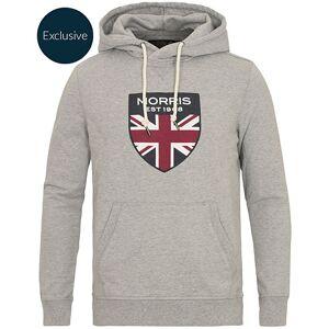 Morris MTO Hooded Sweatshirt Grey
