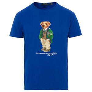 Polo Ralph Lauren Printed Bear Crew Neck Tee Cruise Royal