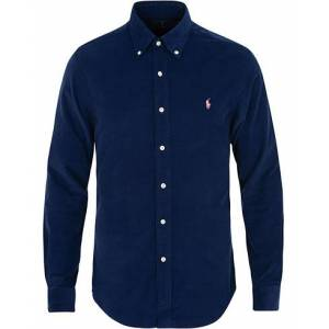 Polo Ralph Lauren Slim Fit Corduroy Shirt Holiday Navy