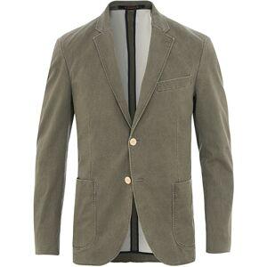 Morris Brighton Washed Cotton Blazer Khaki