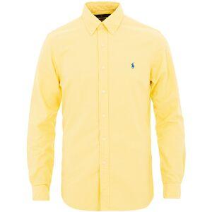 Polo Ralph Lauren Slim Fit Garment Dyed Oxford Shirt Empire Yellow