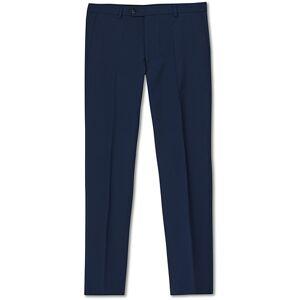 Oscar Jacobson Denz Wool Trousers Navy