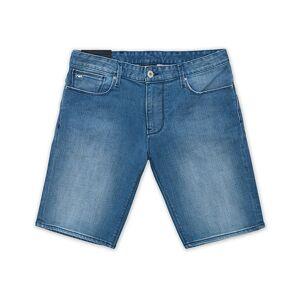 Giorgio Armani Emporio Armani Slim Fit Jeans Shorts Light Blue