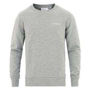 Calvin Klein Logo Sweatshirt Mid Grey Heather
