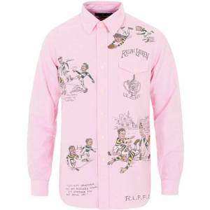 Polo Ralph Lauren Core Fit Rugy Player Shirt Pink