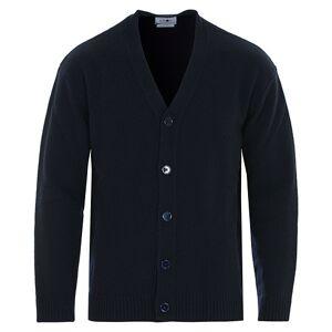 NN07 Bjorn Wool Cardigan Navy Blue