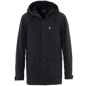 Scott Lyle & Scott Micro Fleece Lined Hooded Jacket True Black