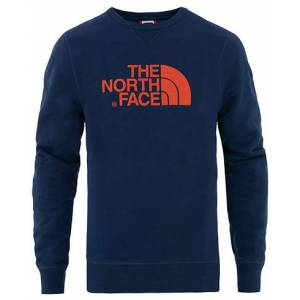 The North Face Drew Peak Crew Neck Sweatshirt Montague Blue