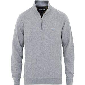 Barbour Lifestyle Batten Cotton/Modal Half Zip Grey Marl