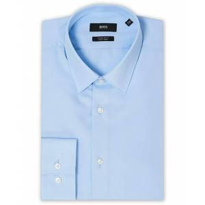 Boss Elliot Regular Fit Shirt Light Blue