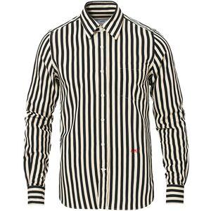 AMI Heart Logo Shirt Black/White