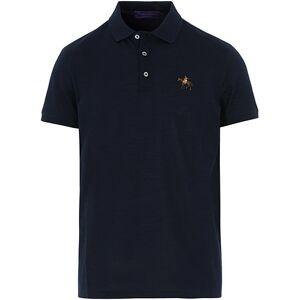 Ralph Lauren Purple Label Mercerized Cotton Polo Chairman Navy