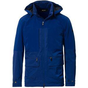 Z Zegna Compact Shell Utility Jacket China Blue