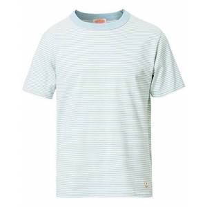 Armor-lux Callac Striped T-Shirt Mint