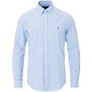 Polo Ralph Lauren Slim Fit Oxford Stripe Shirt Blue/White