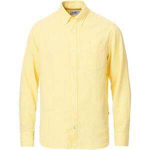NN07 Levon Lyocell/Linen Button Down Shirt Yellow