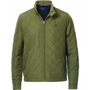 GANT The Quilted Windcheater Jacket Four Leaf Green