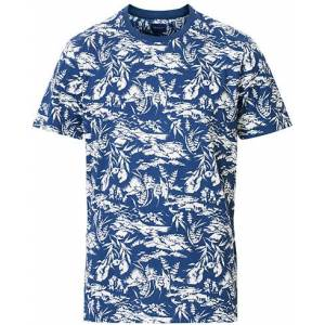 GANT Riviera View Printed Tee Insignia Blue
