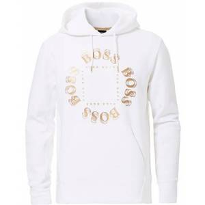 Boss Athleisure Sly Circle Hoodie White/Gold