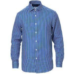 Ralph Lauren Purple Label Bengal Stripe Linen Shirt Blue/White