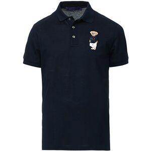 Ralph Lauren Purple Label Exclusive Maritime Bear Polo Chairman Navy
