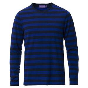 Ralph Lauren Purple Label Striped Long Sleeve T-Shirt Blue
