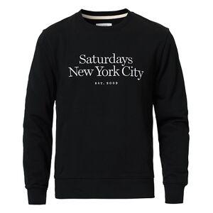 Saturdays NYC Bowery Miller Crew Black