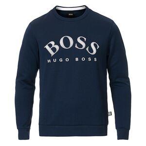Boss Athleisure Salbo Crew Neck Sweater Navy