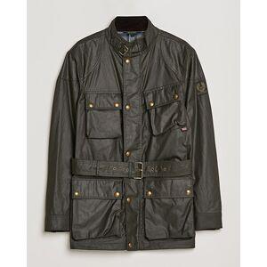 Belstaff Trialmaster Waxed Jacket Faded Olive
