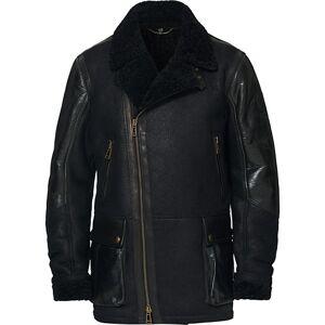Belstaff Dennison Leather Jacket Black