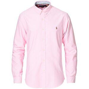 Polo Ralph Lauren Slim Fit Contrast Oxford Shirt New Rose