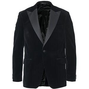 Oscar Jacobson Frampton Velvet Tuxedo Jacket Black