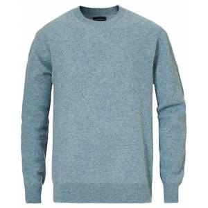 Club Monaco Knitted Ombre Round Neck Blue
