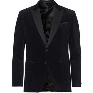 Boss Helward Velvet Smoking Jacket Black