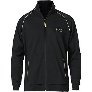 Boss Tracksuit Full Zip Jacket Black