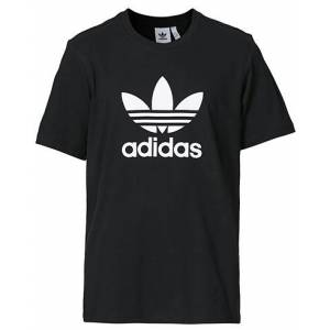 adidas Originals Trefoil Crew Neck Tee Black