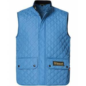 Belstaff Waistcoat Quilted Airforce Blue