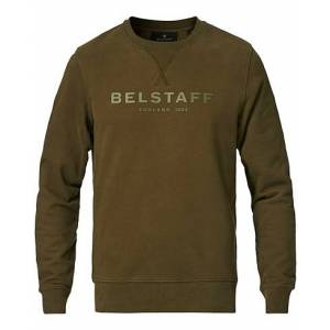 Belstaff Belstaff 1924 Crew Neck Logo Sweat Salvia